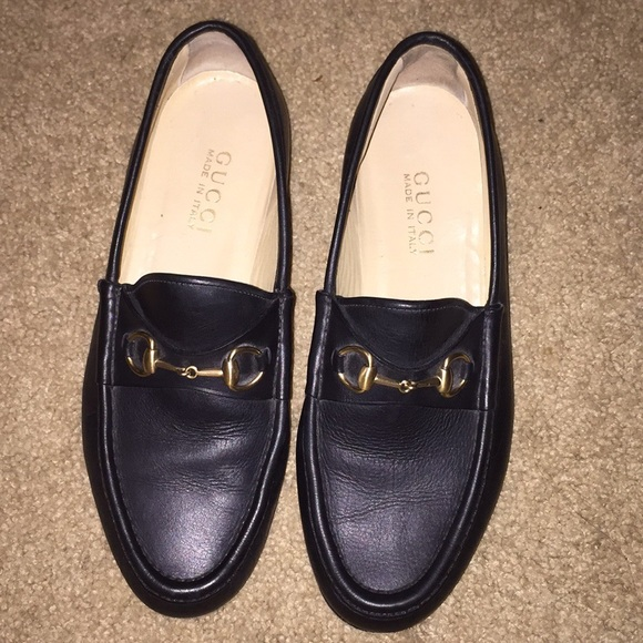 Gucci Shoes - Black Gucci Loafers